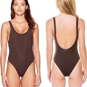 New without tags Mara Hoffman Brown One Piece SzXL